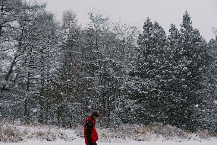 東出昌大写真展「雪は西からやって来る」(みなかみ町)